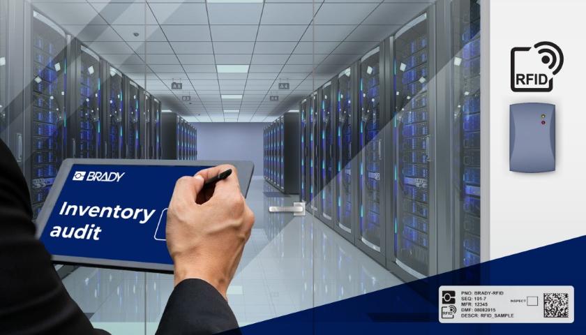 Webinář Efektivní řízení zásob a majetku datového centra pomocí RFID etiket